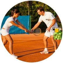 How about a tennis lesson as your best gift ever?  Check out PlayYourCourt.com - they even have gift cards!
