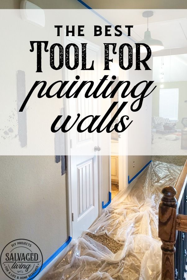 The Best Tool For Painting Walls Diy Wall Painting Using A