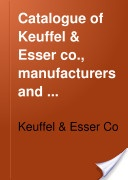 """Catalogue of Keuffel & Esser Co., Manufacturers and Importers of Drawing Materials, Surveying Instruments, Etc."" - 1921, 482"