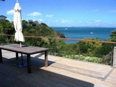 Holiday home with great views, large deck Kennedy Point Waiheke Island New Zealand