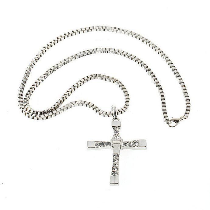 Men Cross Chain Necklace