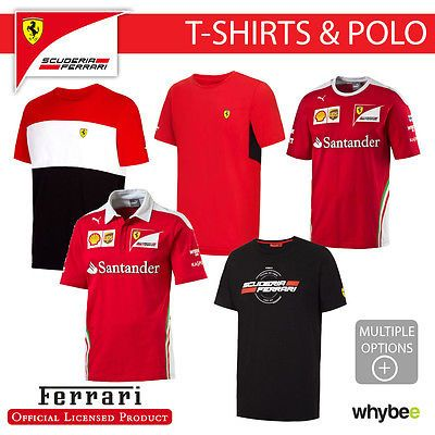 Ferrari f1 #formula one team mens #t-#shirt & polo #shirt official full range,  View more on the LINK: http://www.zeppy.io/product/gb/2/152337021442/