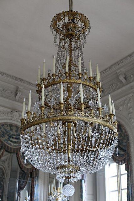 Marie Antoinette Chandelier . . . Versailles . . . France