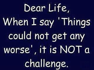Dear Life....