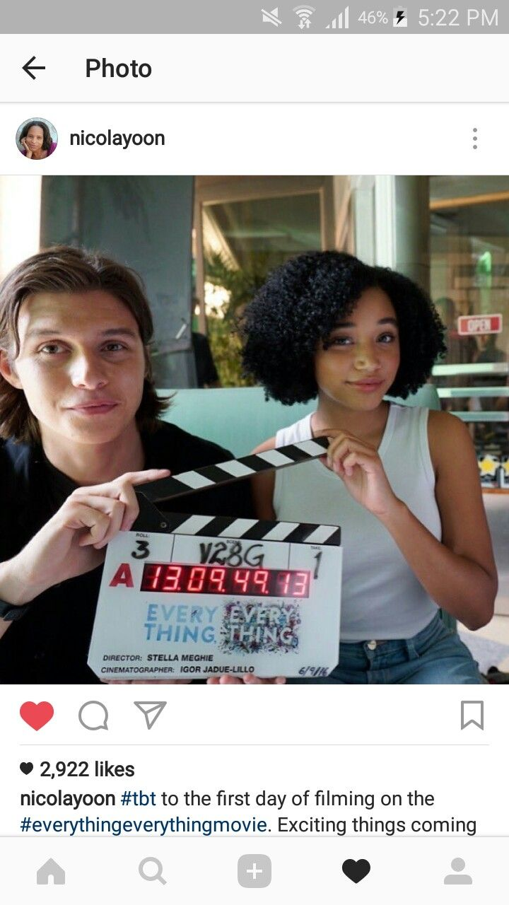 Behind the scenes of #everythingeverything the movie