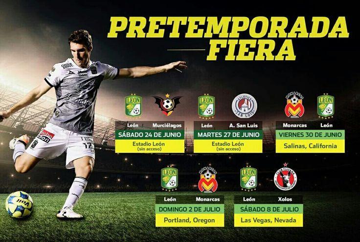 Pretemporada Club León 2017-18