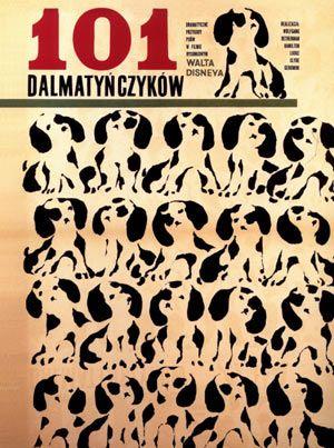 101 Dalmatians movie poster from Poland via Cartoon Brew.
