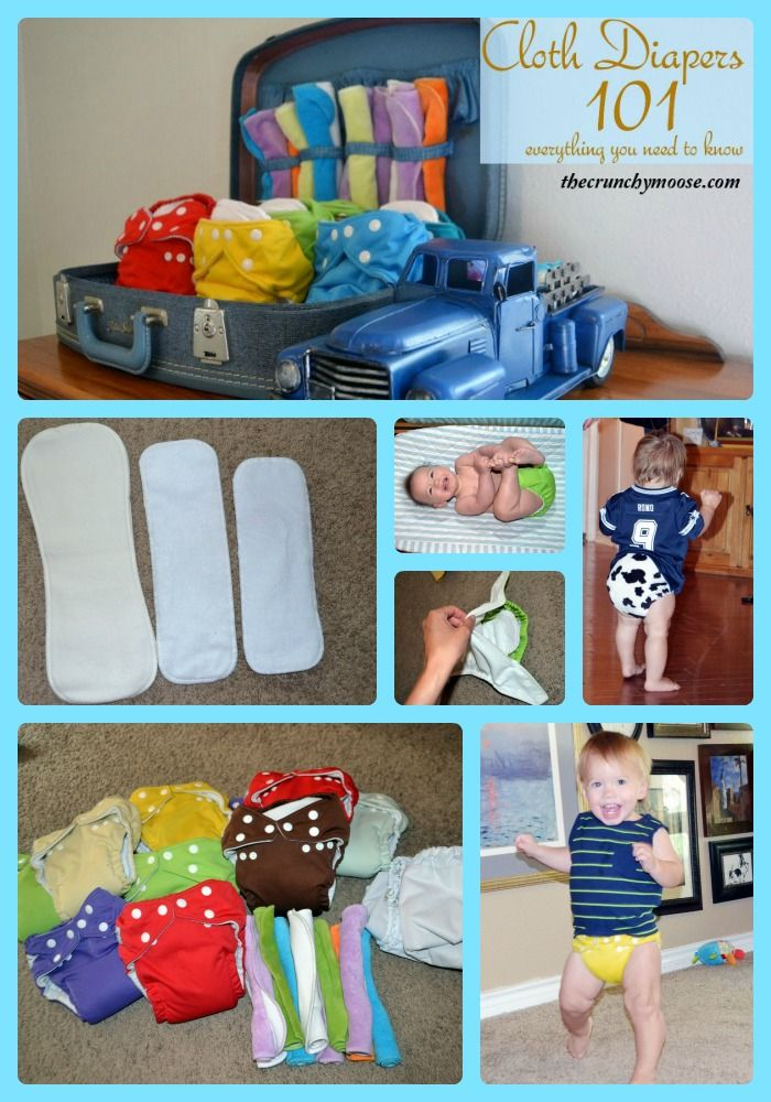 Everything you need to know about cloth diapers.