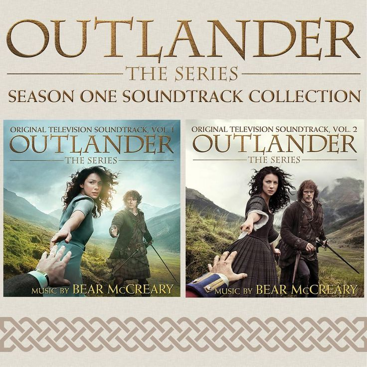 Outlander Season 1 Fan Pack Volume 1 & 2 Soundtrack Combo Pack