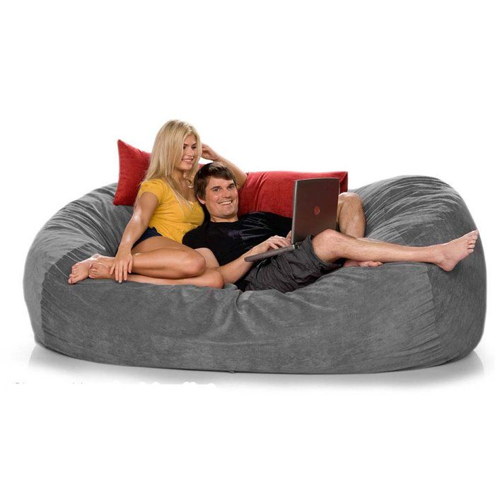 Worth 100 grand, this foam filled lounger enlivens any room that needs a comfy seat.