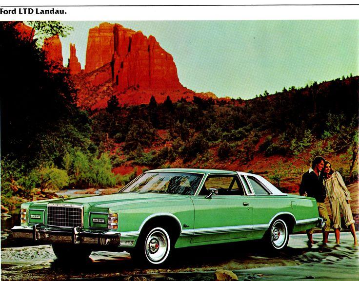 1977 Ford LTD Landau Two Door Pillared Hardtop