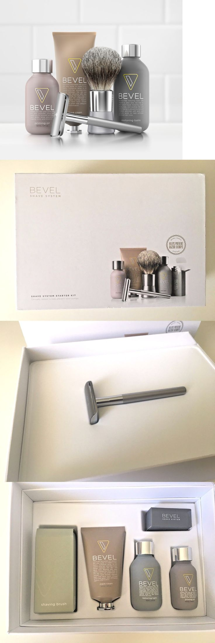 Shaving and Grooming Kits and Sets: Bevel Shave System Kit - Brand New -> BUY IT NOW ONLY: $52 on eBay!