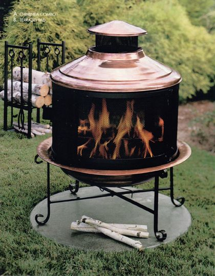17 Best images about Outdoor Fireplaces/Chimineas on ...