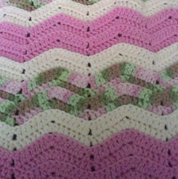 Ripple Crochet Baby Afghan Pattern Crochet Baby Double