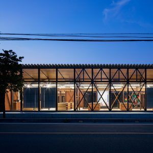 Schemata+Architects+deconstructs+interior+of+Jins+eyewear+shop+in+Japan
