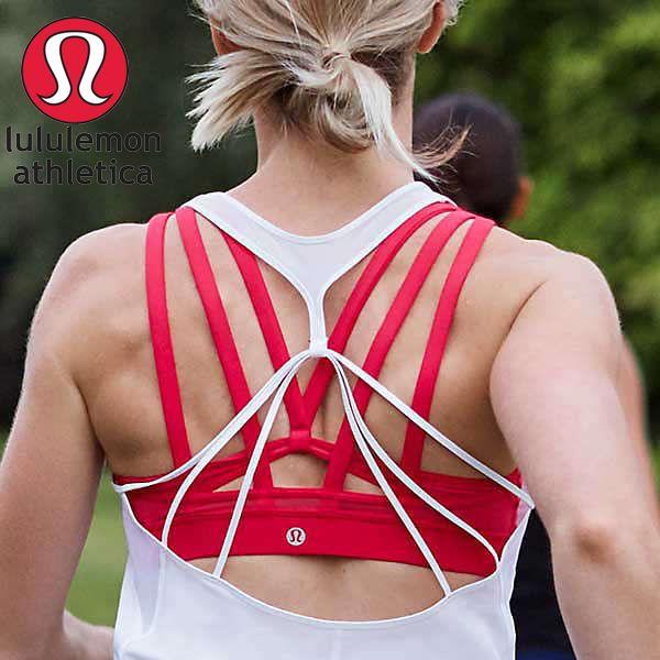 lululemon(ルルレモン)の背中美人になれるヨガ・スポーツブラ☆ ストレッチ性があって体にしっかり馴染みます! #yoga #sportswear