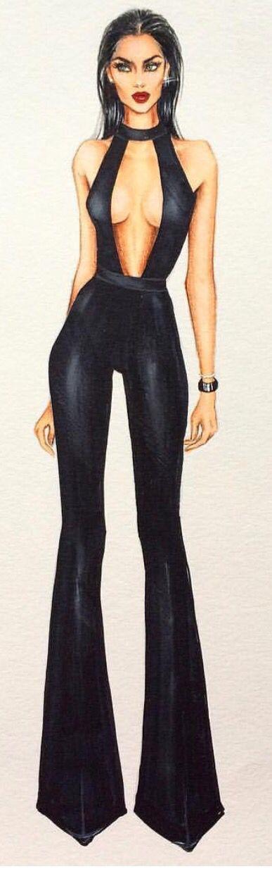 @iriskapirogova / Fashion Illustration
