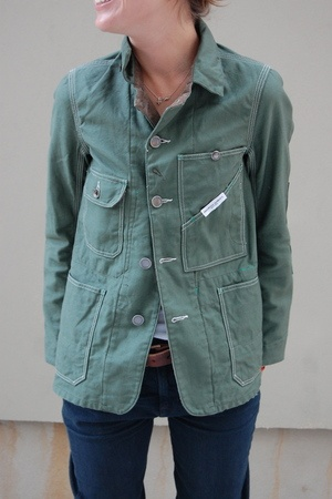oooh I love this jacket! FWK Railroader Jacket  by: FWK Engineered Garments