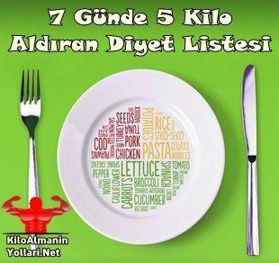 Hızlı Kilo Alma Diyeti ile Haftada 5 Kilo Alın #kiloalmadiyeti #kiloaldırandiyet #kiloaldırandiyetlistesi