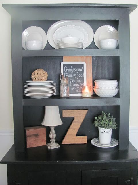 Red Barn Candle Company How To Decorate A Hutch With Not Much