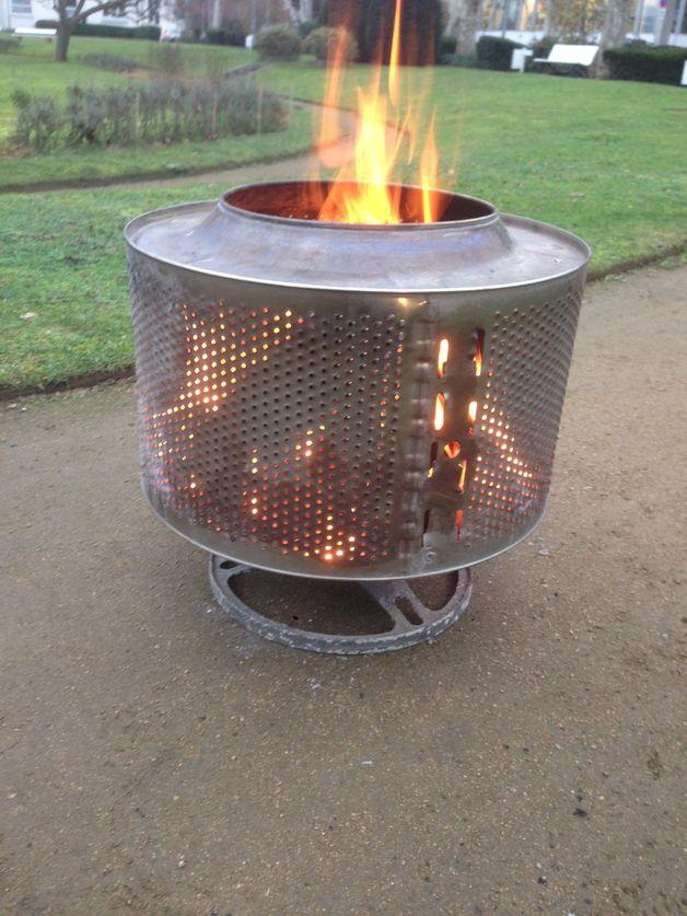 Feuerschalen & -stellen - Perfekte Feuerschale Edelstahl - ein Designerstück von culturebox bei DaWanda