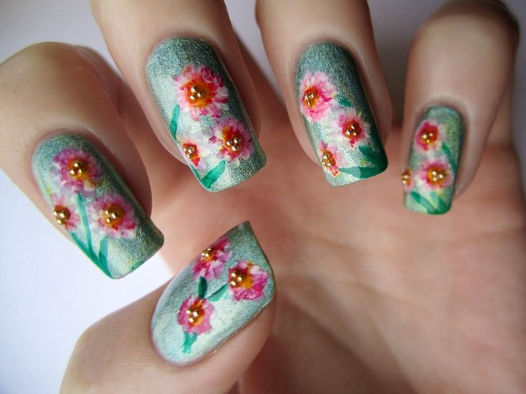 174 best nail art images on pinterest long nails nails design new summer nail art designs nail color trends 2015 prinsesfo Gallery