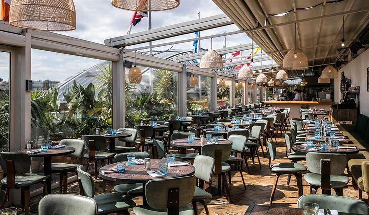 The Roof Deck Restaurant Amp Bar Selfridges Oxford