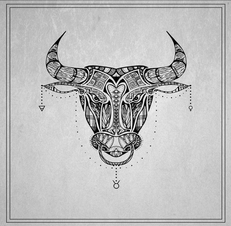 Best 25+ Taurus bull tattoos ideas on Pinterest | Bull ... Taurus Bull Drawing