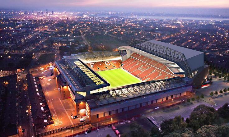 Anfield... the future! #LFC