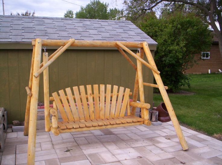 18 best wooden swing seat images on pinterest wood swing for Garage seat 91