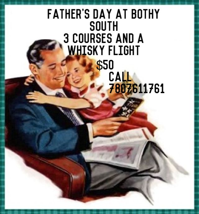 Come and join us at either The Bothy's locations on Father's Day for a 3 course meal and whisky flight. Treat dad to some authentic Scottish food and premium whisky. Please contact us for more information on our menu.