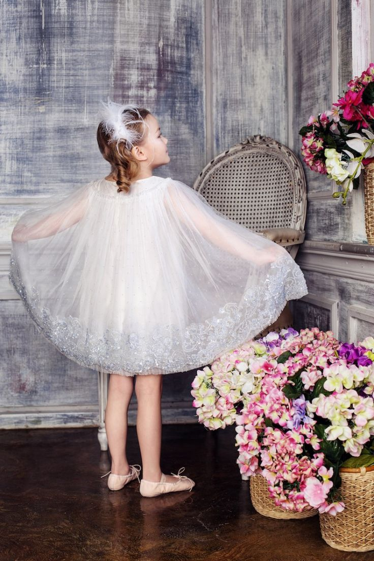 #Embellished #Snowflake #tulle #dress