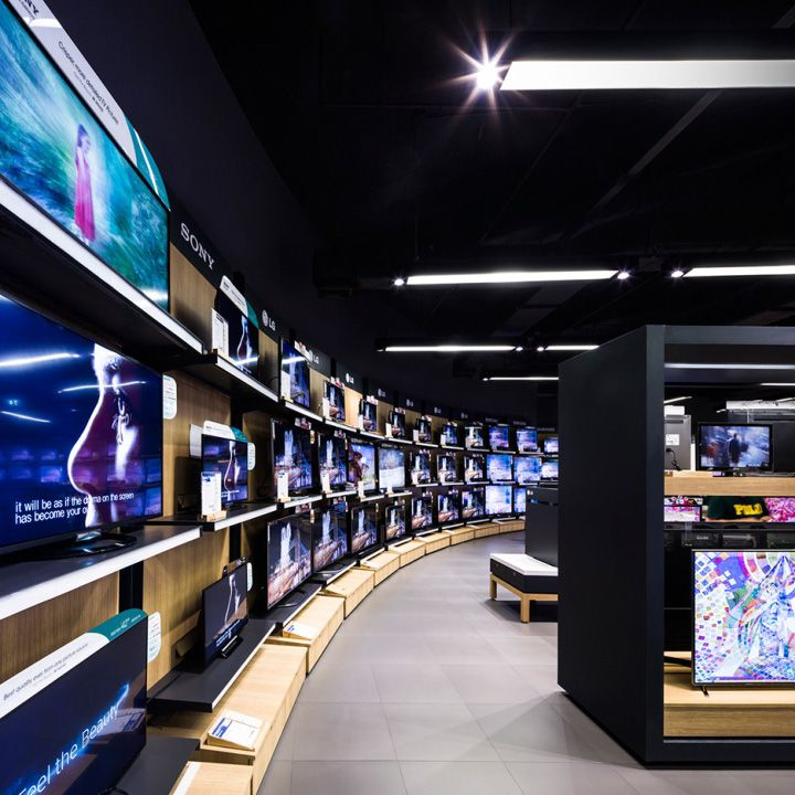 """Power Buy store by Whitespace, Bangkok – Thailand """" Thailand's largest large format electronics and appliance retailer asked Whitespace to reinvent their retail stores. We rose to the challenge with a..."""