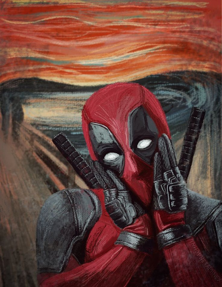#Deadpool #Fan #Art. (Deadpool) By: Inhophetaminex. (THE * 5 * STÅR * ÅWARD * OF: * AW YEAH, IT'S MAJOR ÅWESOMENESS!!!™)[THANK U 4 PINNING!!!<·><]<©>ÅÅÅ+(OB4E)   https://s-media-cache-ak0.pinimg.com/564x/86/8f/cc/868fcc46340d15aad1fbc462568a2192.jpg