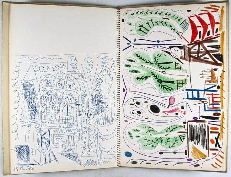 sketchbook, picasso klinebooks.com