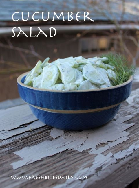 This wonderful cucumber salad is so easy, the compliments it brings are almost embarrassing