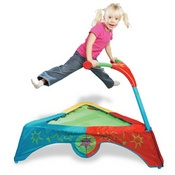 Jump Smart Toddler Trampoline - A Kid's Trampoline-  Layla got this for christmas and LOVES it