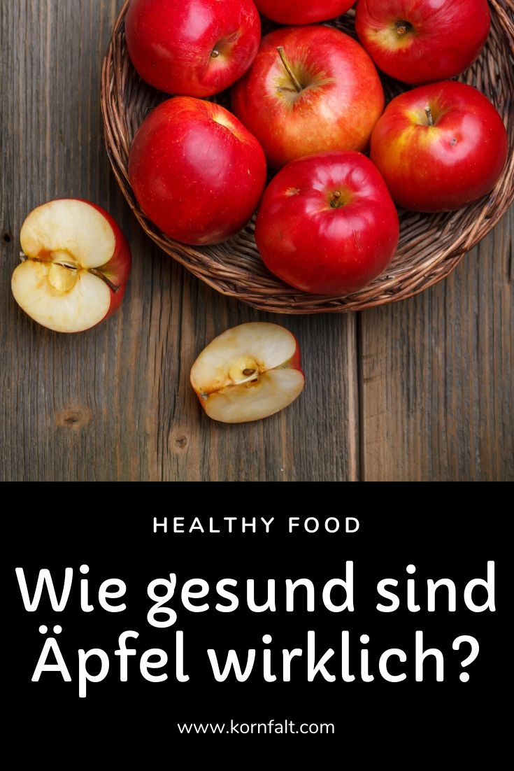 Wie Gesund Sind äpfel