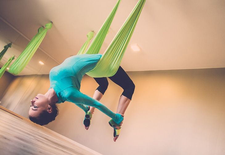 The aerial arts can be done in many forms, one of which is being in the hammock. Yoga hammocks are used for Anti-gravity or Aerial Yoga, and the soft fabric of the hammock assists you in maintaining proper alignment and deepening your bodily awareness. If you want to experience the full benefits of Aerial Yoga in a hammock, you can join a beginner's aerial hammock class.