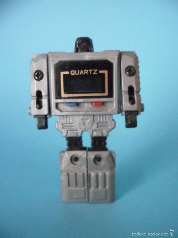 Figuras y Muñecos Transformers: RELOJ QUARTZ TRANSFORMERS TRANSFORMER GRIS PLATEADO ORIGINAL AÑOS 80 - Foto 7 - 56673772