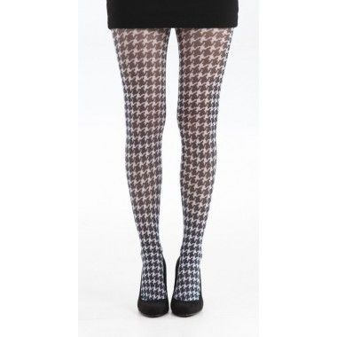Black and white houndstooth pattern.10,98 €