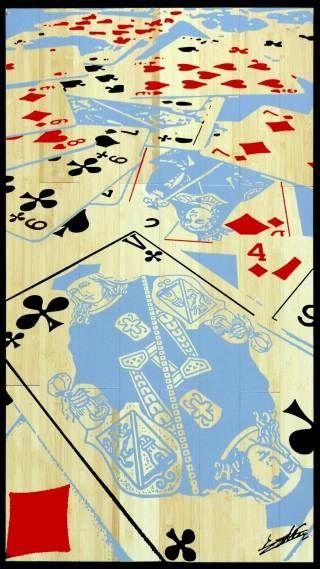 Tableau Cartes sur table Casino royal