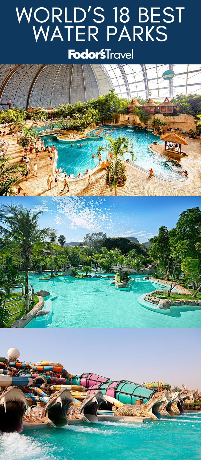 Adrenaline knows no language barriers at the world's best water parks. #summer #travel #waterparks