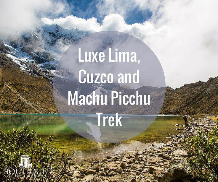 Discover Luxe Lima, Cuzco and Machu Picchu Trek here: http://www.boutiquesouthamerica.com.au/product/luxe-lima-cuzco-and-machu-picchu-mountain-trek/