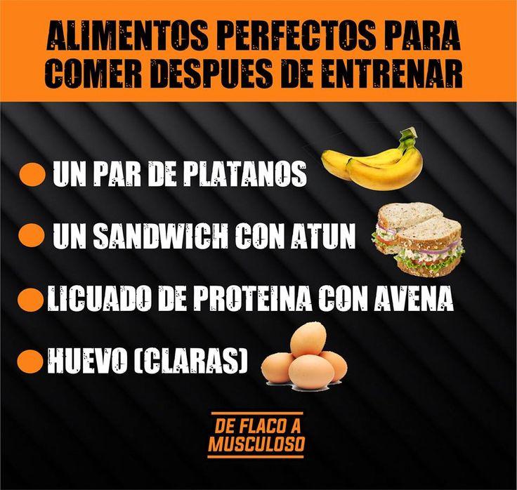Estos #alimentos son perfectos si lo que quieres es aumentar #musculo  #comida #fitness #saludable #aumentarmusculo #gimnasio #ejercicio #proteina