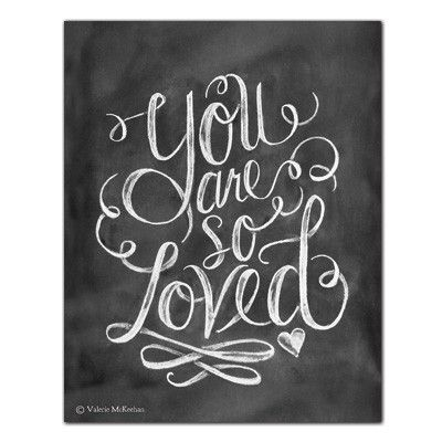 You Are So Loved - Print #Family #Friendship #Gifts