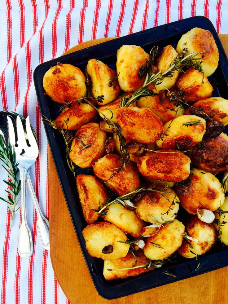 The Best Roast Potatoes Recipe - Shine Dining