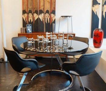 Boris Tabacoff dining set.