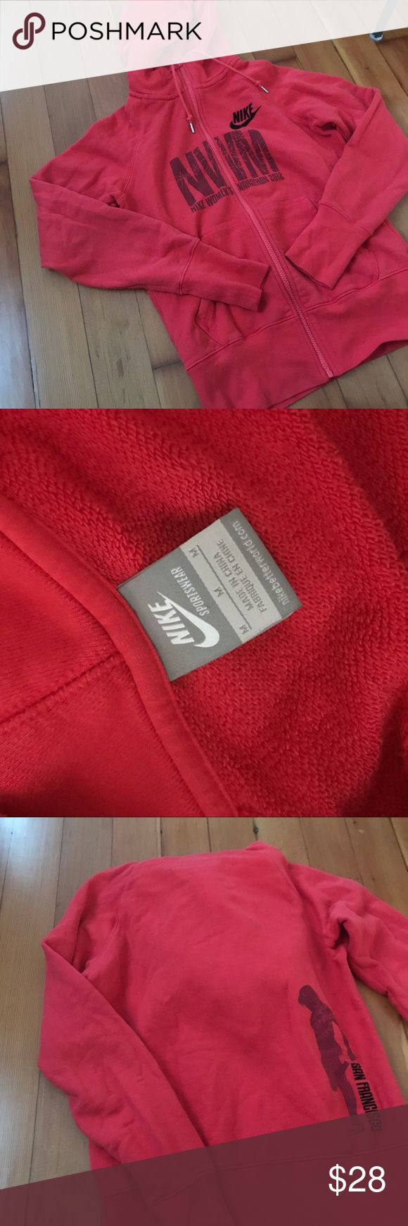 Nike zip up hoodie Worn only a handful of times full zip with drawstrings and hood Nike Jackets & Coats