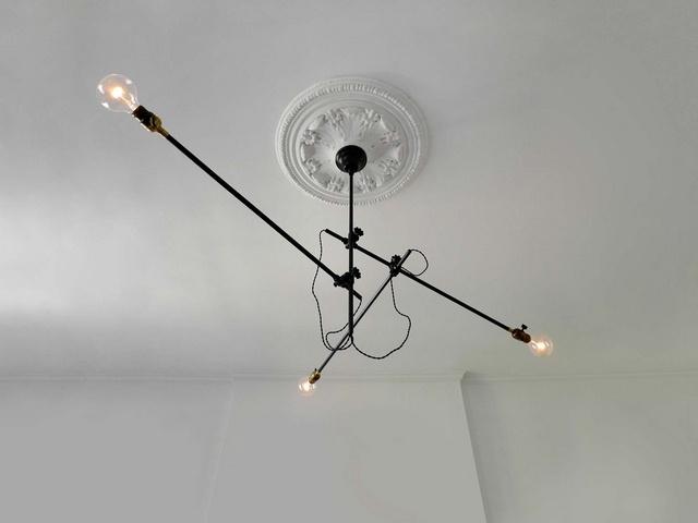 Industrial Chandelier Lighting Fixture 2.